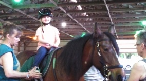 Therapeutic Horseback Riding at Shady Hollow Assisted Riding in Birdsboro, Pa